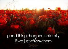 Elizabeth Richardson - Good Things Happen Naturally