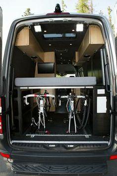 Van On Pinterest Mtb Camper Van And Sprinter Van