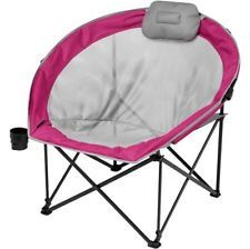 Silla de picnic campamento de gran tamaño acogedor patio Asiento Camping Playa Pesca Berry al aire libre
