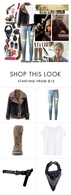 """""""Day 18: Carol and Rick (because i couldnt just pick one of them)"""" by fandoms-unite-3947 ❤ liked on Polyvore featuring rag & bone, Steve Madden, H&M, ASOS, Maxwell Snow, Laundry and Bodum"""