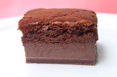 Surprises et gourmandises - Gâteau magique au chocolat