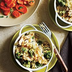 Broccoli and Rice Casseroles | CookingLight.com