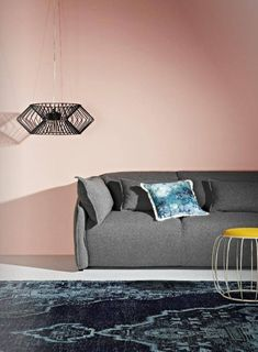 Most popular pink feature wall living room color schemes ideas Dusty Pink Bedroom, Pink Bedroom Walls, Bedroom Wall Colors, Pink Bedrooms, Room Colors, Bedroom Decor, Bedroom Ideas, Pink Walls, Pink Feature Wall