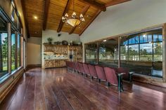 Anothre viewing room of the arena R & B Ranch- Sisters, OR.