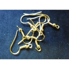 Gold Tone Earring Wire, Pack of for Bead Shop, Shops, Wire, Beads, Earrings, Gold, Jewelry, O Beads, Jewellery Making