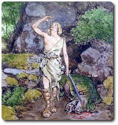 Nibelungensage - Siegfried tötet den Drachen - Aventin Blog