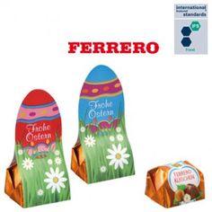 Chocolat - Küsschen de Ferrero, Pâques standard - Tarifs sur devis (contact@objetpubenligne.com) - Référence : ES654811- Attention, pause estivale! Motifs standards: 1. Œuf de Pâques rouge, 2. Œuf de Pâques bleu Format env. 70 x 30 x 25 mm Conservation env. 3 mois si le produit est conservé dans un endroit approprié Conditionnement 100 pièces / carton Plus d'informations: http://www.objetpubenligne50000.com/index.php?id_product=306995=product