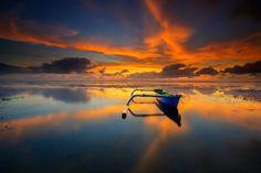 The Blue - Sunrise at Karang Beach, Sanur - Bali  please visit and follow my gallery on instagram : https://www.instagram.com/gedesuyoga/