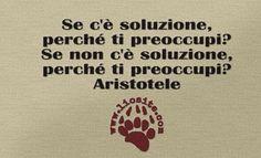 Se lo diceva pure Aristotele.... ma non mi consola per nulla ;) Se c'è soluzione, perché ti preoccupi? Se non c'è soluzione, perché ti preoccupi? Aristotele #aristotele, #soluzioni, #fotocitazioni,