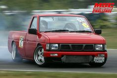 drift+trucks | ... get my 87 hardbody as low as i can without bags. : Nissan Trucks Forum