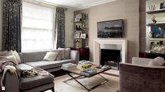 Salon styl Glamour #salon #pomysłynasalon #wystrójwnętrz #interiordesign see more: dom-wnetrze.com
