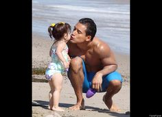 Celebrity Photos: July 2012/ Mario Lopez and little girl Gia