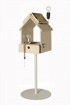 origineel gebruik van het vogelhuisje