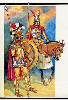 Hellenic army Greco Persian Wars, Hellenic Army, Greek Soldier, Greek Warrior, Greek History, Medieval Armor, Dark Ages, Ancient Greece, Roman Empire