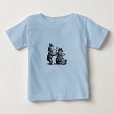 #salon - #Beary Nice Hairdresser Baby T-Shirt