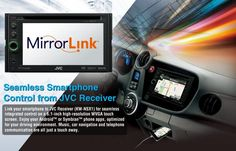 JVC Mobile Entertainment, obviously a spin-off from parent company JVC, has just announced their MirrorLink receiver that offers seamless smartphone control as it will integrate your Android-powered smartphone to a JVC receiver, letting you enjoy an optimized driving environment. The [...]