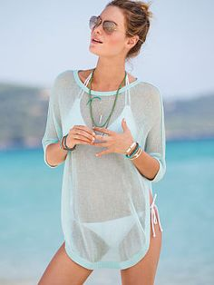 High-low Cover-up. Can't wait to be on a beach!