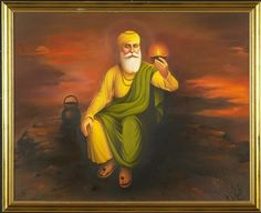 The way you are looking for guru nanak dev ji images and HD images, photo wallpaper or picture gallery. we have best collection of guru nanak dev ji photo frame and images. Guru Nanak Picture, Guru Nanak Photo, Guru Nanak Ji, Nanak Dev Ji, Founder Of Sikhism, Guru Nanak Wallpaper, Mom Song, Religious Paintings, Picture Comments