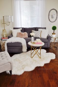 Chunky knits are very popular this season! I love this knit throw pillow from HomeGoods with the fur pom-poms. Some of my other favorite trends are butterflies, pink, faux fur, and gold. Sponsored by HomeGoods