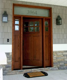Awesome Craftsman Style Entry Doors