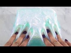 Clay plus slime = yassssss Playdough Slime, Slimy Slime, Slime Asmr, Foam Slime, Diy Crafts Slime, Slime Craft, Kids Crafts, Youtube Slime, Vídeos Youtube