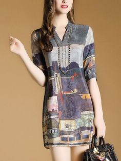 Day Dresses, Casual Dresses, Short Dresses, Casual Outfits, Fashion Dresses, Bodycon Outfits, Batik Fashion, Gothic Fashion, Cheap Dresses Online