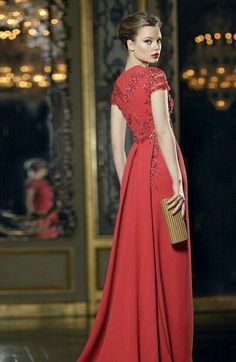 Newberry - red gown - 2012
