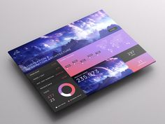 SJQHUB™ // Visual Data UI Dashboard on Behance