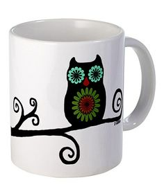 Take a look at this Owl Mug by CafePress on #zulily today!