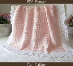 Crochet PATTERN 41 - Angel Series - Crochet Baby Blanket PATTERN 41 - Crochet Symbol Pattern - Instant Download PDF via Etsy