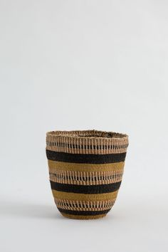 The original traditional Kenyan basket, laboriously crafted from thin hand-twisted sisal fibres that are dyed using natural plants. The groups producing these baskets have creative freedom, weaving patterns of their choice with a natural colour palette - making each one unique.