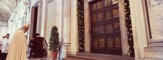 Pope Francis Holy Door St. Peter's