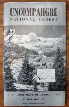 Vintage US Forest Service Sign Location Poster U S Forest - Us forest map 1800s