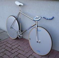 Beautiful Benotto track bike.