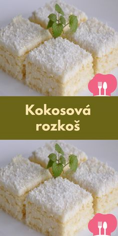 Kokosová rozkoš Food, Meals