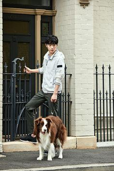 Seo Kang Joon In Australia With Bean Pole Outdoor   Couch Kimchi