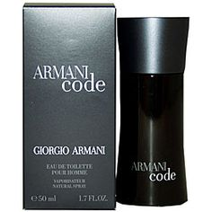 Brand New Without a Box Armani Code Toilette Spray Fl oz for Men By Giorgio Armani . Armani Black Code claims to be a new perspective on the Giorgio Armani man, the fragrance is described as elegant, timelessly sensual, understated ye. Perfume, Parfum Chic, Giorgio Armani Code, Amazon Beauty Products, Thing 1, Best Fragrances, Men's Grooming, Smell Good, Bath And Body
