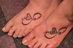 Mother Daughter Symbols Tattoo Infinity | Sisters Infinity Symbol at the Illustrator Tattoo in Dallas Ga.