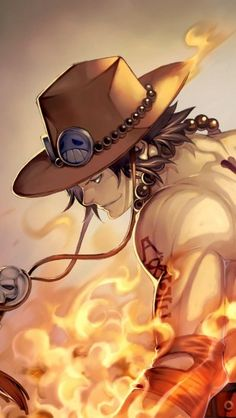 One Piece ACE - The iPhone Wallpapers