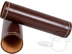 Xikar Envoy Leather Single Cigar Case - Cognac