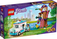 Lego Friends, Ambulance, Cat Tree House, Party Expert, Vet Clinics, Halloween Items, Lego Sets, Building Toys, Gifts For Boys