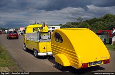 Cute #VW #Retro Teardrop Trailer