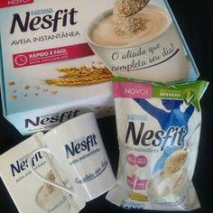 Olha que bacana esses presentinhos da Nestlé Nesfit! O kit veio com uma caneca, uma agenda e o mais recente lançamento a Aveia Instantânea.  Achei super prática a ideia porque posso prepará-la como bebida morna ou fria. De todo jeito é deliciosa!  Fica a dica! Obrigada Nestlé Nesfit: https://www.facebook.com/NestleNesfit?fref=ts