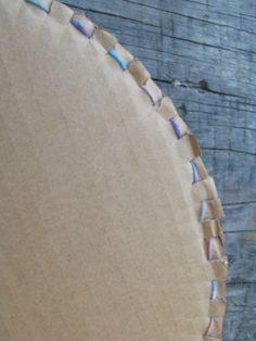 Back of project--circular warp