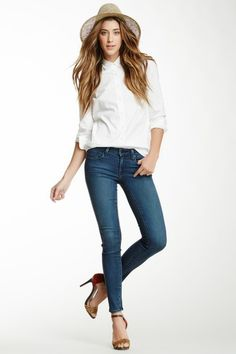 Shya Cigarette Skinny Jean by Genetic Denim on @HauteLook