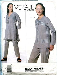 Eyewateringly expensive now: 1990s ISSEY MIYAKE Tunic Top Caftan Pants
