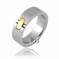 Unisex snubní prsten Silvego z chirurgické oceli SSK20 velikost 51