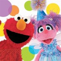 Create a spectacular party atmosphere with these Sesame Street Elmo Party Elmo and Abby Beverage Napkins. Elmo and Abby are ready to celebrate!Package includes beverage napkins to match your party themeEach paper napkin measur Elmo Birthday, First Birthday Parties, Birthday Party Themes, Birthday Ideas, Happy Birthday, Sesame Street Party Supplies, Elmo Party, Sesame Street Birthday, Party Stores