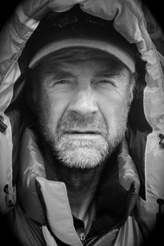 """Sir Ranulph Fiennes - a polar explorer for over four decades, the only living person to have circumnavigated the globe on its polar axis, the first person ever to summit Everest and cross both polar ice caps, and described by Guiness Book of Records as """"The World's Greatest Living Explorer""""."""