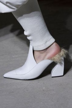 db62b6bc2522 The Hottest Shoes On The Fall 2018 Runways  Marques Almeida   FashionTrendsShoes Γυναίκες Στη